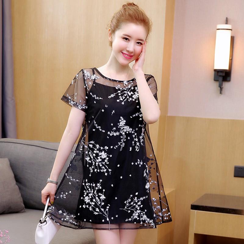 Đầm bầu , váy bầu phối ren hiện đại thích hợp cho dạo phố du lịch mặc nhà
