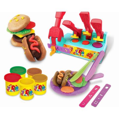 Đồ chơi giáo dục 3D chủ đề Burger Builer -AL
