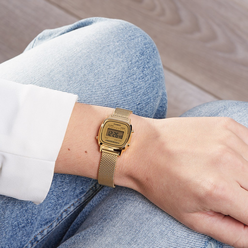 Đồng hồ nữ Casio Standard chính hãng Anh Khuê LA670WEMY-9DF