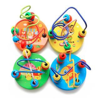 Đồ chơi thông minh️ cho bé 🎓FREESHIP🎁Giảm 7K Khi Nhập [LETITM2] Đồ Chơi Mê Cung Luồn Hạt Gỗ, Phụ Kiện Bảng Bận Rộn
