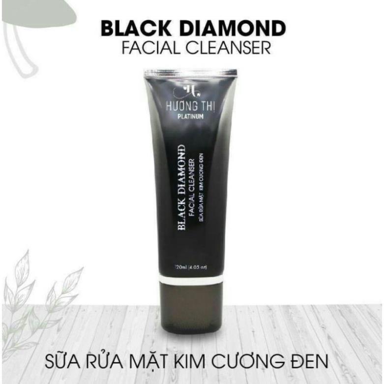 Sữa rửa mặt kim cương đen Hương Thị