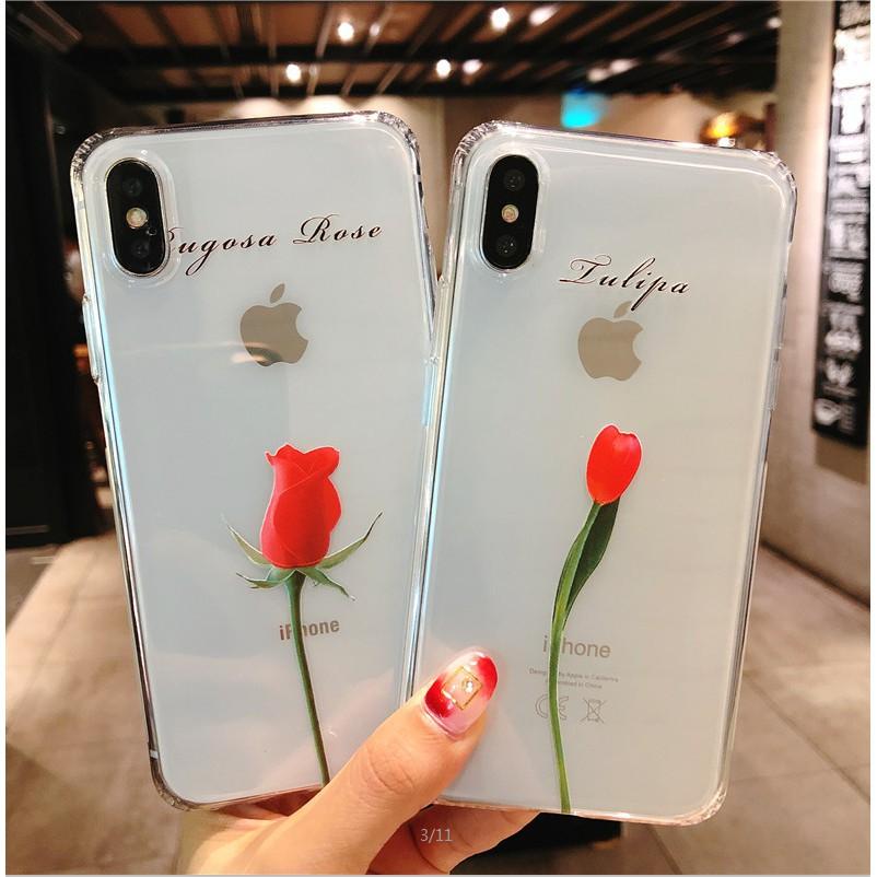 Ốp lưng hình hoa hồng đt iPhone