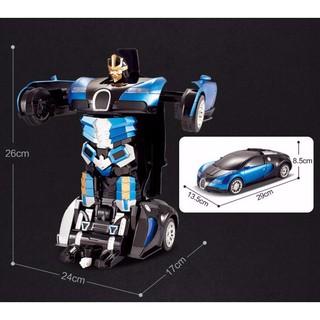 [ CHÍNH HÃNG ] Xe oto biến hình robot 2in1 mecha ares loại nhỏ – BẢO HÀNH