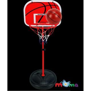 Bộ đồ chơi thể thao vận động Bóng Rổ ngoài trời,trong nhà Basket ball sport có thể lắp xếp gọn cho bé từ 3 tuổi _BS001