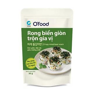 [Siêu rẻ]Rong biển giòn trộn gia vị O'Food 30g, ăn liền tiện lợi