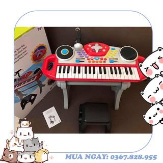 Đàn organ kèm mic và bàn DJ Winfun 2068