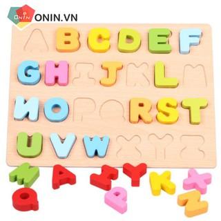 Đồ chơi giáo dục – Bảng chữ cái/số 3D