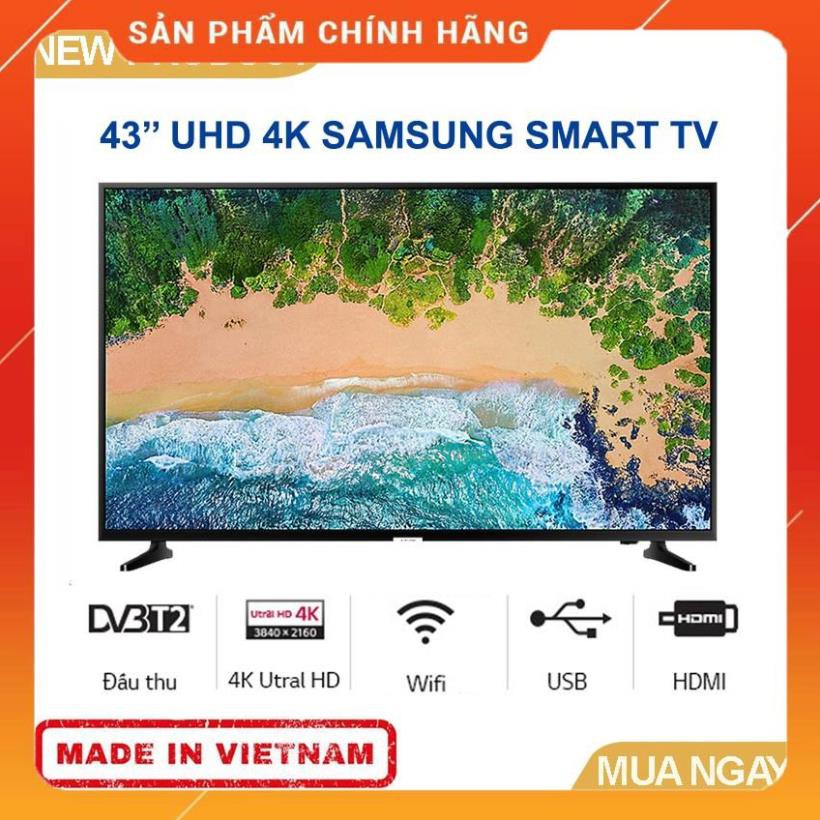 Smart Tivi Samsung 4K 43 Inch Ua43Nu7090 - Tivi Giá Rẻ