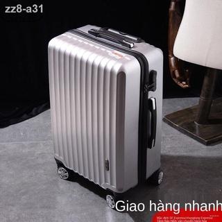 [hàng mới]vali mới nữ dung tích lớn hộp mật khẩu siêu mạnh mẽ và bền học sinh Phiên bản Hàn Quốc Xe đẩy 20 Inch nam thumbnail