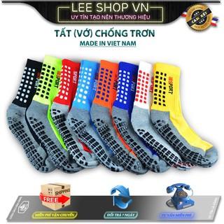 Tất (Vớ) đá bóng chống trơn, trượt, loại ngắn, hàng cao cấp / Công nghệ Japan / sản phẩm mới 2019 Lee shop VN