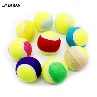Pet Chewing Natural Rubber Tennis Ball Safe Resistant Bouncy Ball Toy [Zaran]