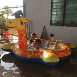 Bể bơi hươu cao cổ cho bé
