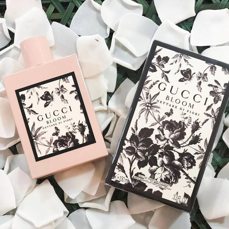 Nước hoa nữ Gucci Bloom Nettare Di Fiori EDP 100ml - Nước hoa Gucci Fiori |  Shopee Việt Nam
