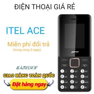 Điện thoại giá rẻ cho người giá Itel Ace ( 2 sim) pin khủng chữ to thumbnail