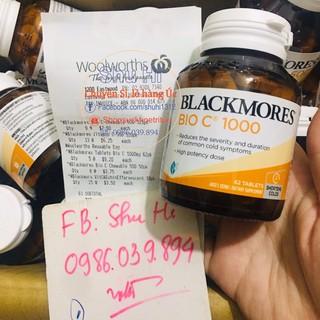 Viên uống Vitamin C Bio C Blackmores 1000mg 62 viên Úc thumbnail