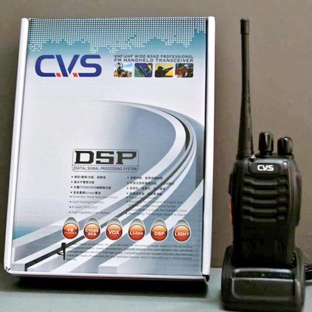 [SALE 10%] Bộ đàm CVS 15 băng tần