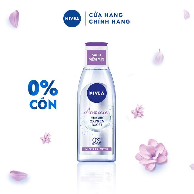 Nước tẩy trang Nivea cho da mụn Acne Care Makeup Clear Micellar Water 200ml