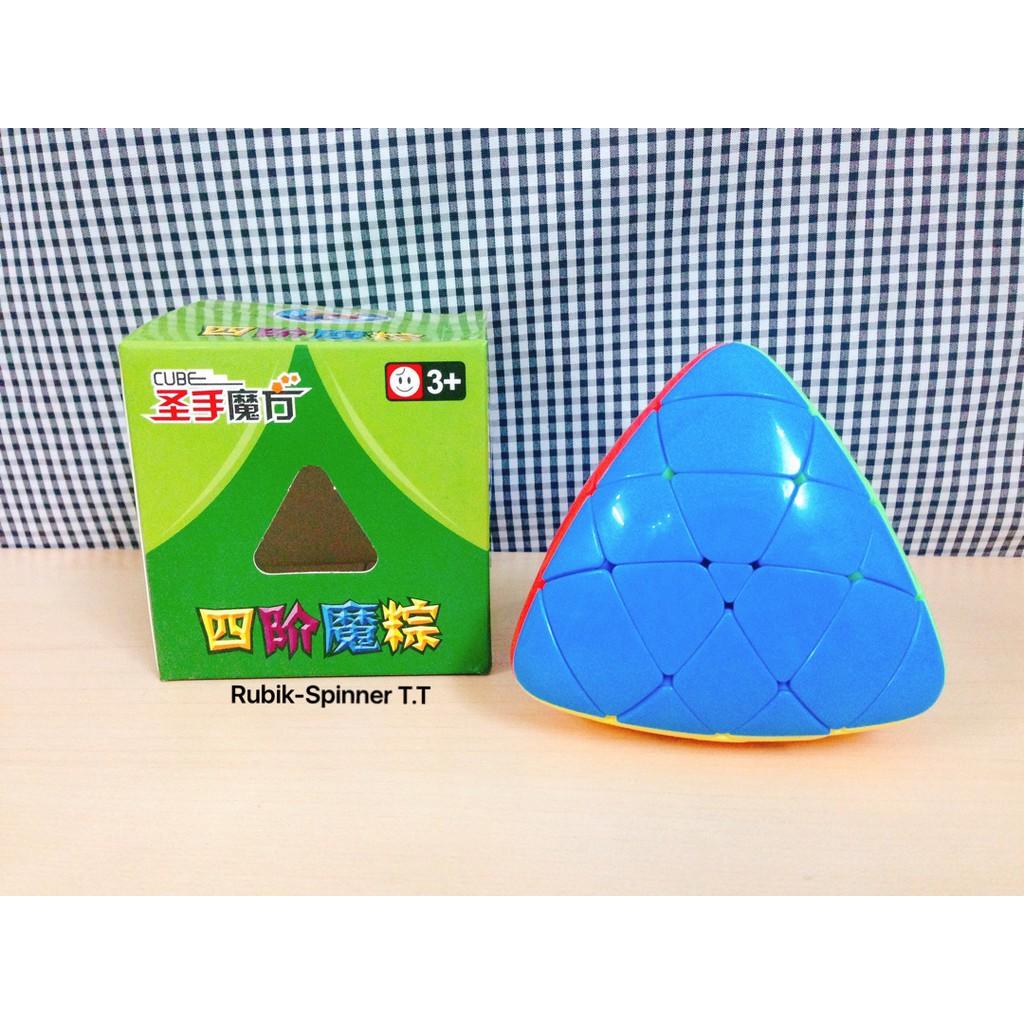 Rubik Biến Thể 4 Mặt - ShengShou Megamorphix ( Pyraminx 4 Tầng )