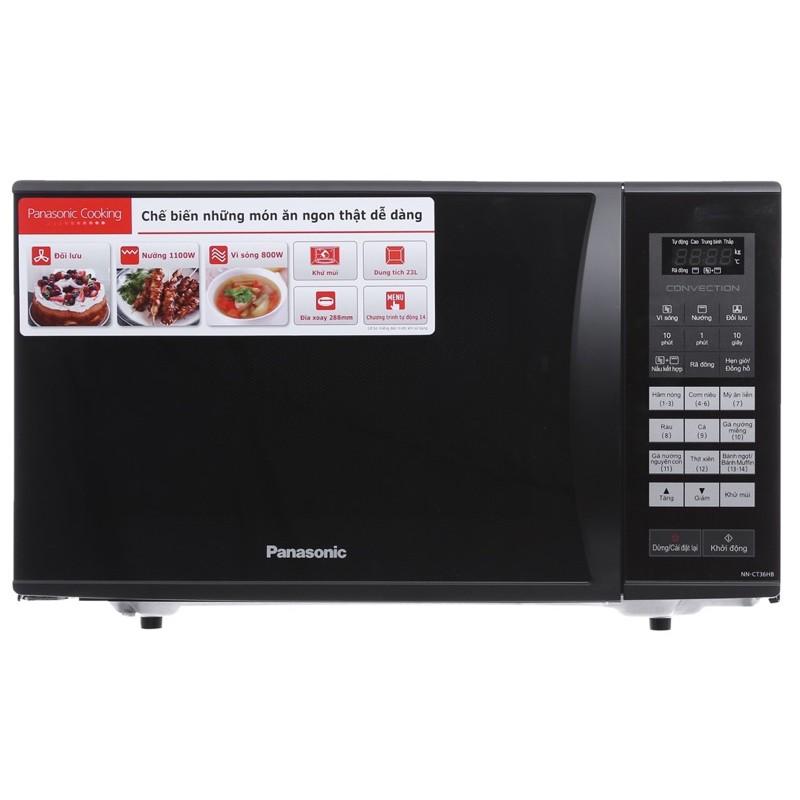 Lò vi sóng Panasonic NN-CT36HBYUE 23 lít/Hàng trưng bày điện máy xanh mới 99%