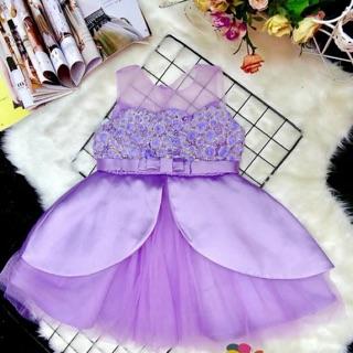 Đầm công chúa thiết kế cao cấp cho bé gái nhà mình