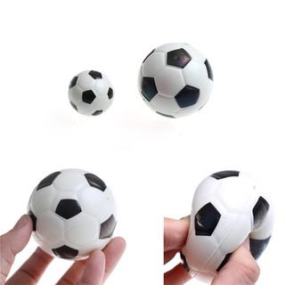 [BEW] 1PC Stress Relief Vent Ball Mini Football Squeeze Foam Soccer Ball Kids Toys [OL]