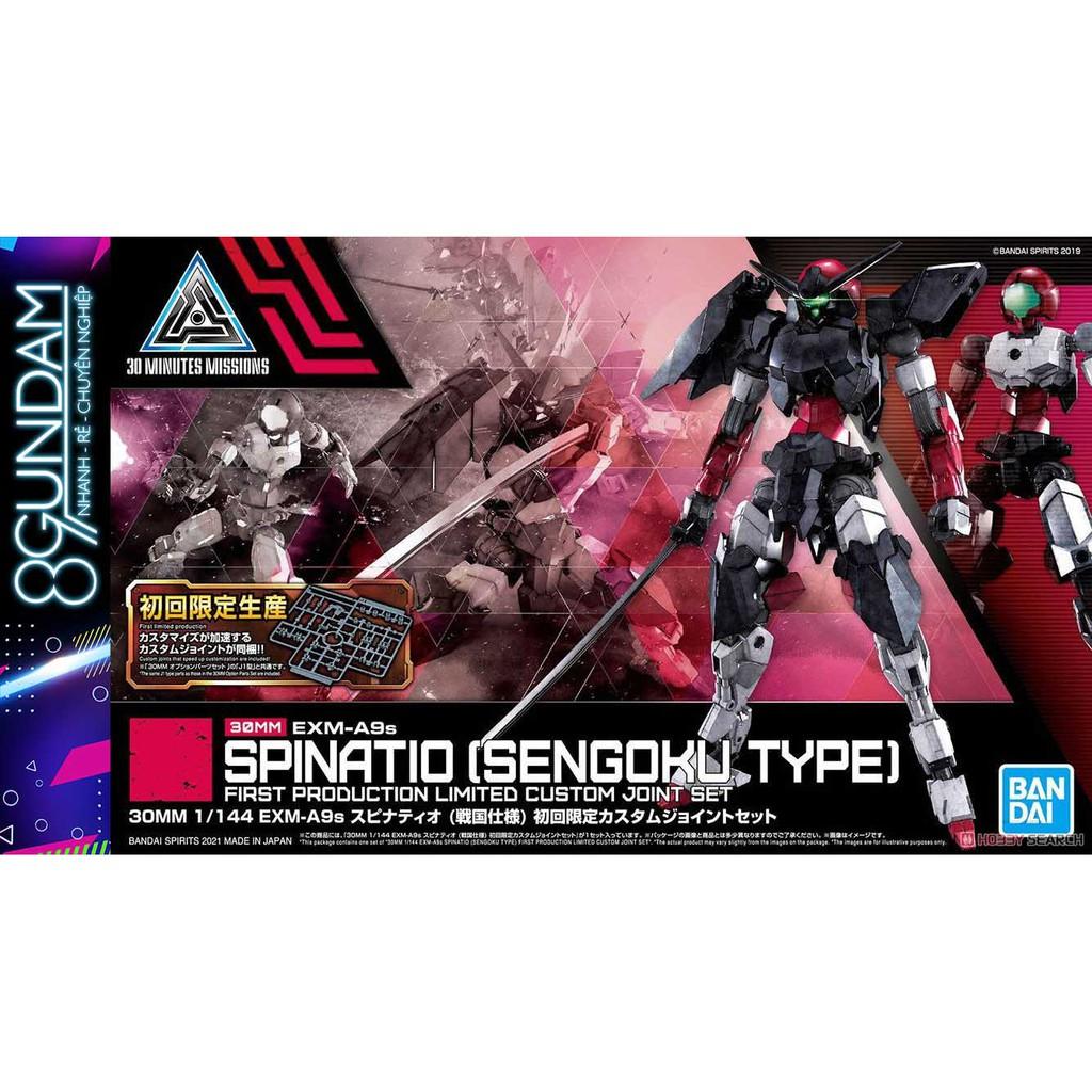 Mô Hình Lắp Ráp 30MM EXM-A9s Spinatio [Sengoku Type] [HÀNG ĐỢT ĐẦU TẶNG RUNNER BONUS]