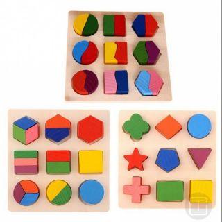 Đồ chơi xếp hình khối hình học cho bé[Rẻ Vô Địch]