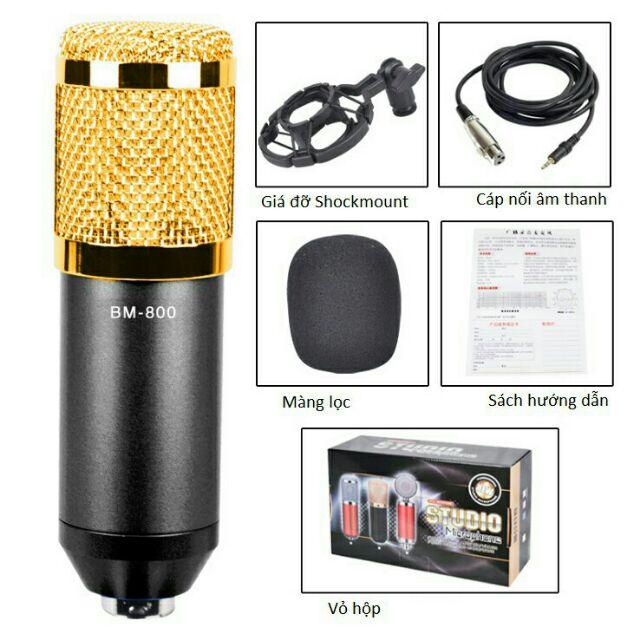 Mic thu âm chuyên nghiệp BM800 -dc2343