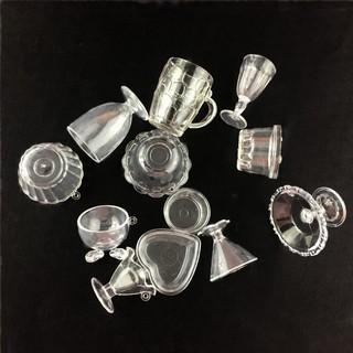 Mô hình bộ 12 món ly tách phụ kiện trang trí nhà búp bê thumbnail