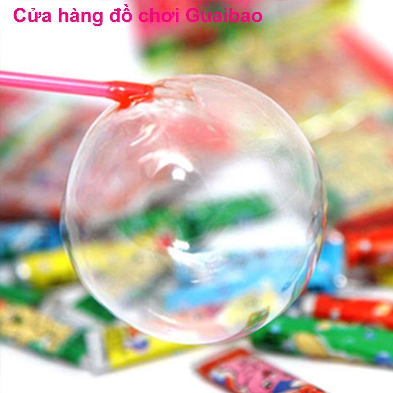 đồ chơi giáo dụcKẹo cao su Billy Blow Ball Space Balloon 7080 Đồ chơi trẻ em hoài cổ không dễ vỡ bong bóng an toàn,