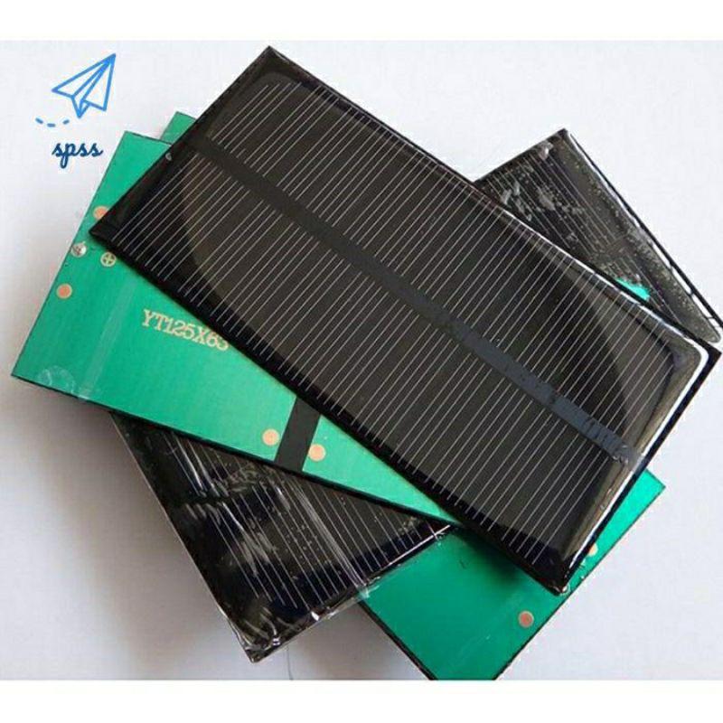 tấm pin Mặt Trời 6v-1W dùng sạc điện thoại chế tạo mô hình diy sáng tạo