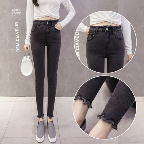 quần jeans dài lưng cao thời trang cho nữ - 14316400 , 2411441570 , 322_2411441570 , 298400 , quan-jeans-dai-lung-cao-thoi-trang-cho-nu-322_2411441570 , shopee.vn , quần jeans dài lưng cao thời trang cho nữ