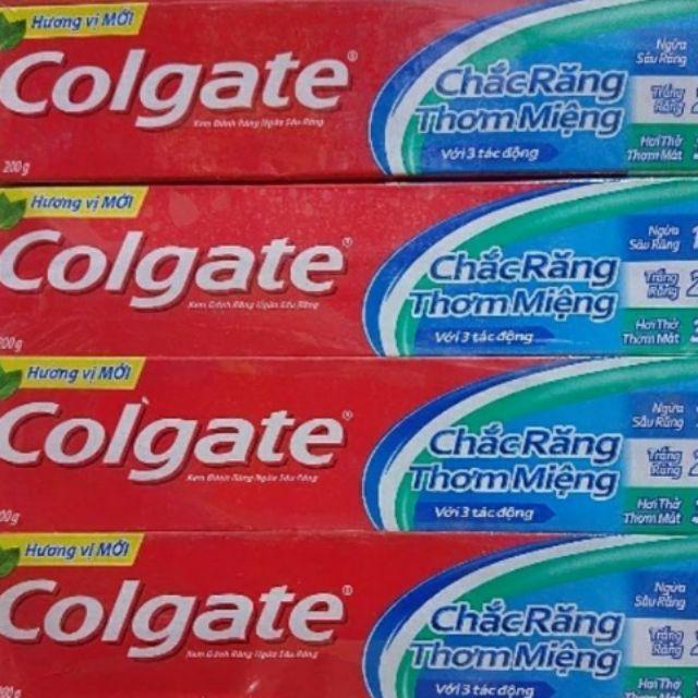 Kem đánh răng Colgate Chắc răng thơm miệng 180g