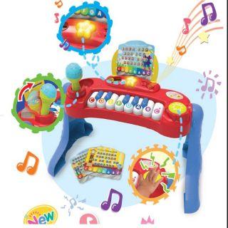 Đàn Piano kèm Micro (Winfun)cho bé.