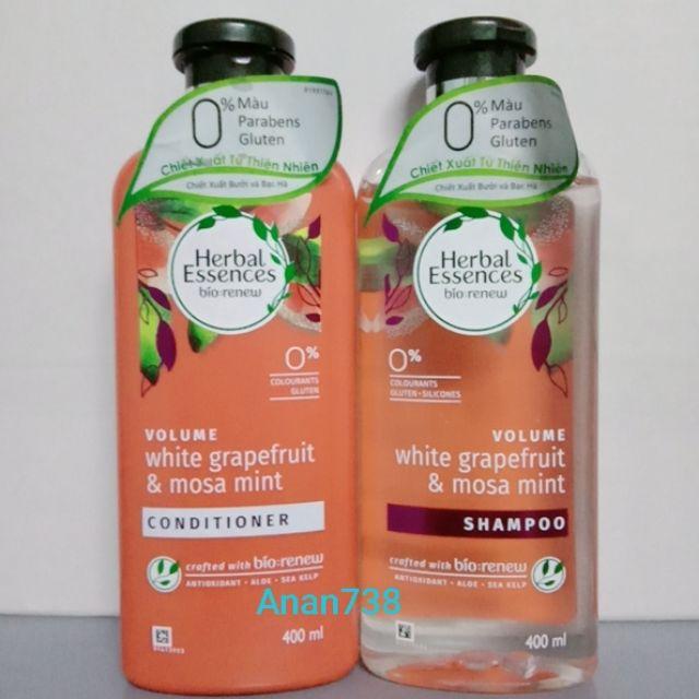 400ML Dầu Gội Và Xả Herbal Essences