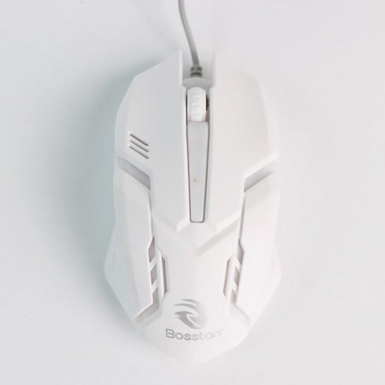 Bàn Phím Máy Vi Tính Bosston 8310 TẶNG KÈM CHUỘT - Bàn phím giả cơ chơi game chuyên nghiệp