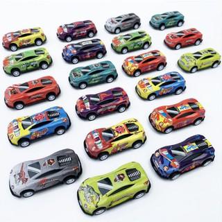 COMBO Bộ 2 ôtô mini - đồ chơi trẻ em có bánh đà 2