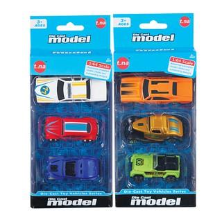 Bộ 3 xe mô hình kim loại (1 64) TNA TN-1018I (màu ngẫu nhiên)