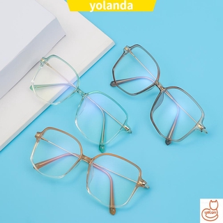 ☆YOLA☆ Fashion Anti-Blue Light Eyewear Irregular Retro Spectacles Frames Anti-Radiation Computer Polygon Eyeglasses Vintage Optical Glasses/Multicolor