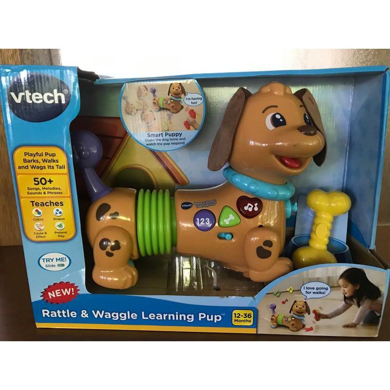 Đồ chơi chú chó vui vẻ Vtech Rattle & Waggle Learning Pup