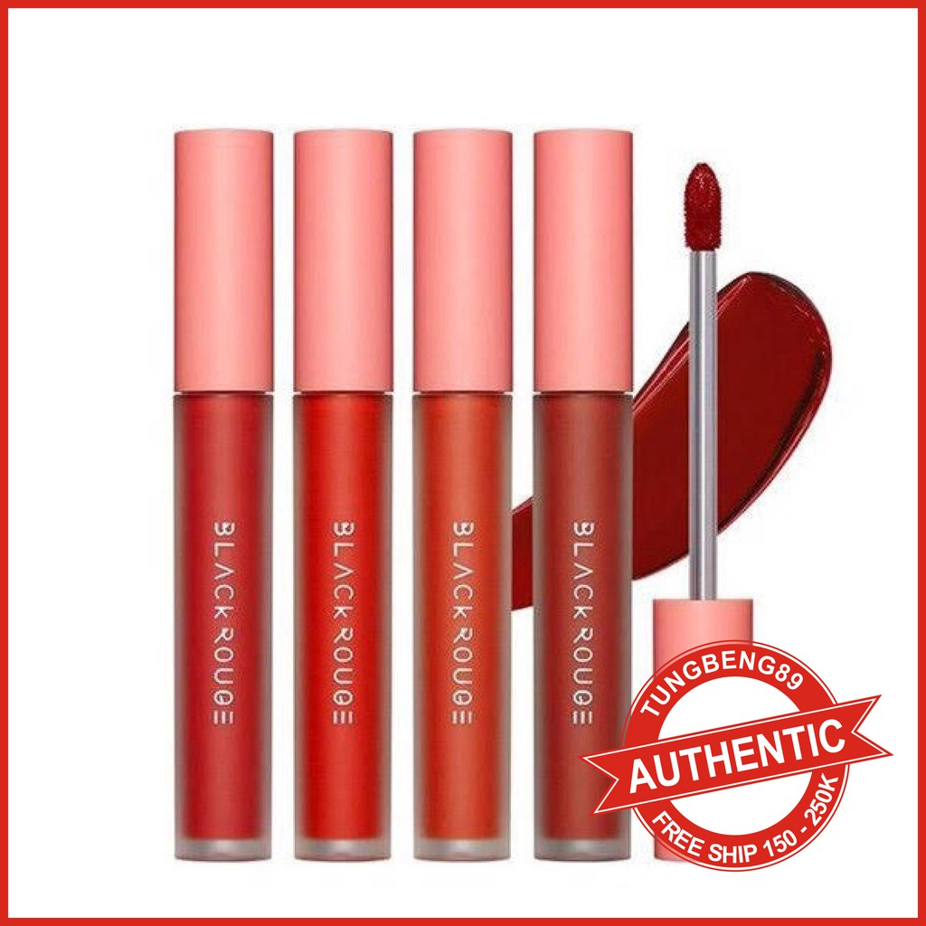 Son Kem Black Rouge Power Proof Matte Tint lâu trôi