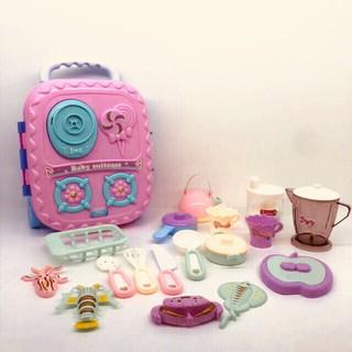 GIÁ RẺ NHẤT -Đồ chơi Bếp + máy sinh tố dạng vali kéo