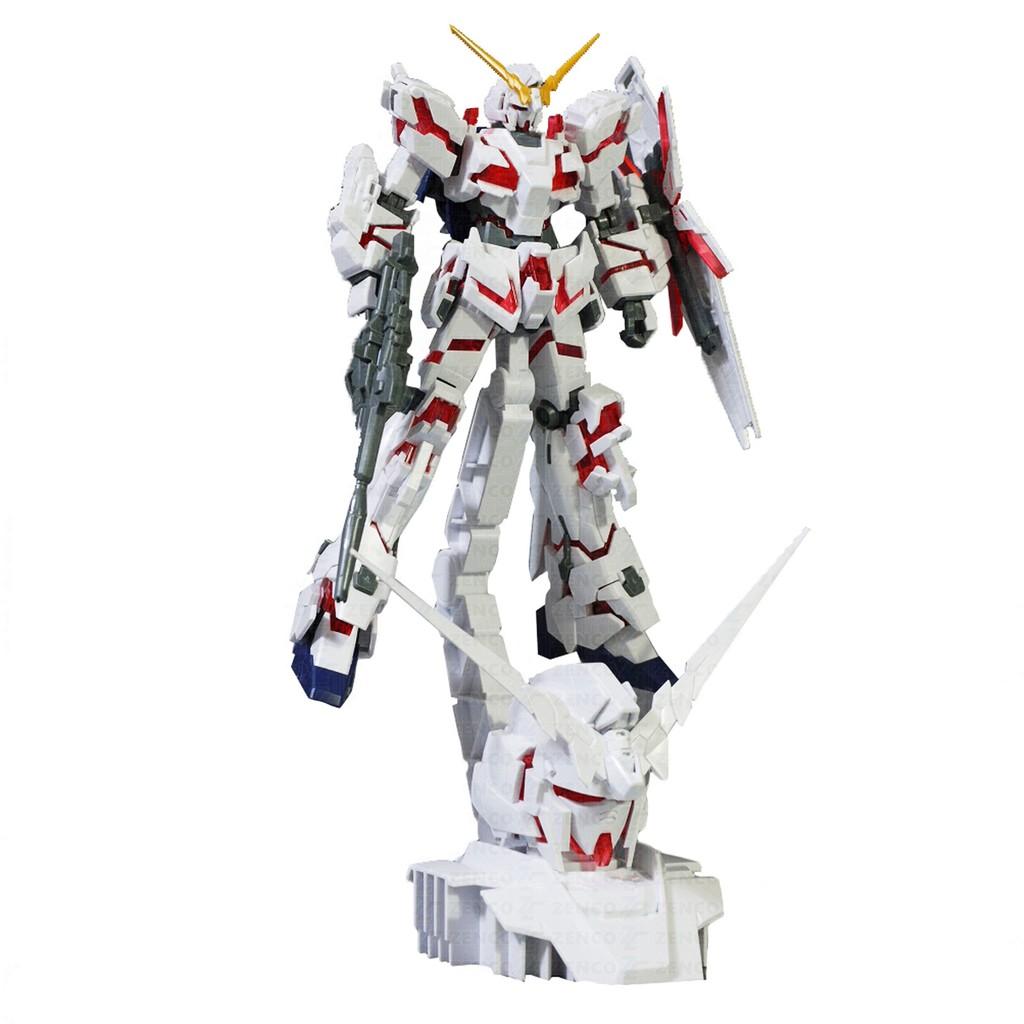 Mô Hình Lắp Ráp Daban High Grade Universal Century Rx-0 Unicorn Gundam Destroy Mode và Head Display