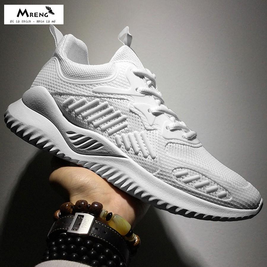 Giày Sneaker Nam ♥️ FREESHIP+HOÀN XU ♥️ Giày Thể Thao Nam Cao Cấp Chính Hãng - MRENG MS11