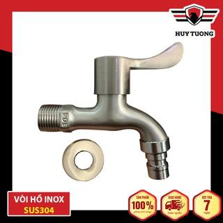 Vòi nước, vòi hồ tay gạt Inox SUS304 cao cấp – Huy Tưởng