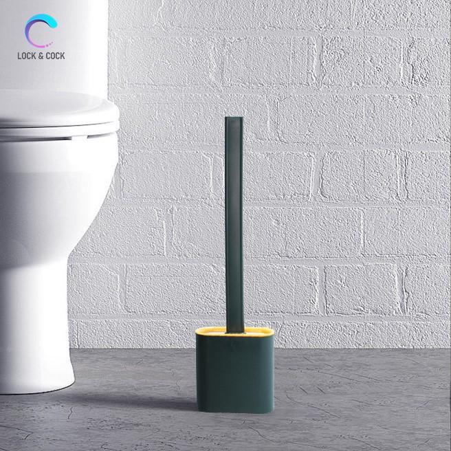 Cọ vệ sinh nhà tắm bồn cầu toilet siêu sạch chất liệu silicon PT-CVS