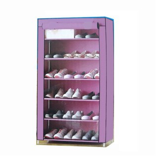 Tủ giày 6 tầng, khung sắt mạ kẽm, Việt Nam sản xuất Thăng Long AVC