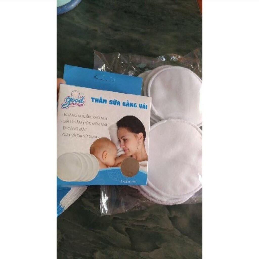 Miếng lót thấm sữa GIẶT ĐƯỢC chuẩn Good Mama (Hộp 8 Miếng)