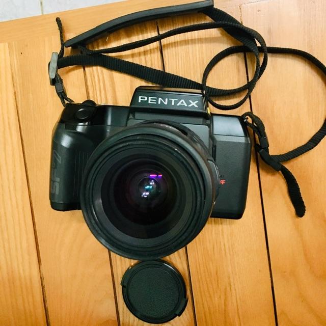 Máy ảnh film Pentax SF7 + lens Smc pentax FA 28-80