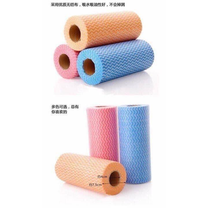 Cuộn Khăn Lau Đa Năng (50 khăn / 1 cuộn) MH76
